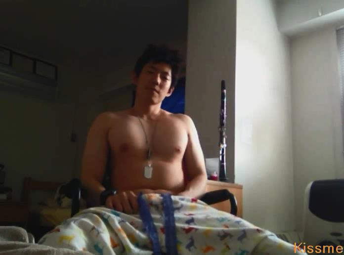 Cute Hot Asian Guy Masturbating
